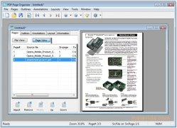 Foxit PDF Page Organizer immagine 1 Thumbnail