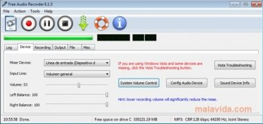 Free Audio Recorder immagine 4 Thumbnail