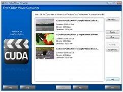 Free CUDA Movie Converter bild 1 Thumbnail