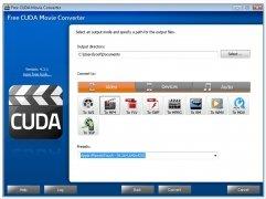Free CUDA Movie Converter immagine 2 Thumbnail