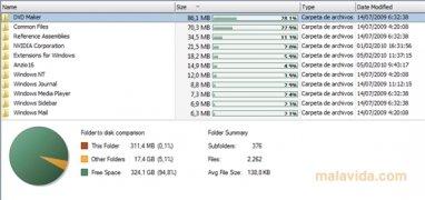 Free Disk Analyzer Изображение 4 Thumbnail