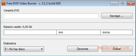 Free DVD Video Burner imagen 3 Thumbnail