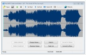 Free MP3 Cutter and Editor imagen 1 Thumbnail