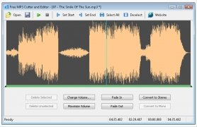 Free MP3 Cutter and Editor image 2 Thumbnail