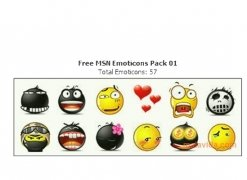Free MSN Emoticons Pack 1 imagen 3 Thumbnail