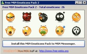 Free MSN Emoticons Pack 2 image 2 Thumbnail