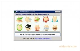 Free MSN Emoticons Pack 3 image 2 Thumbnail