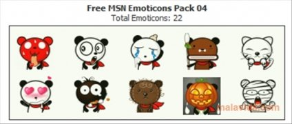 Free MSN Emoticons Pack 4 bild 3 Thumbnail