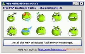 Free MSN Emoticons Pack 5 Изображение 3 Thumbnail