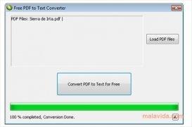 Free PDF to Text Converter imagem 1 Thumbnail
