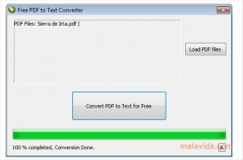 Free PDF to Text Converter imagen 1 Thumbnail
