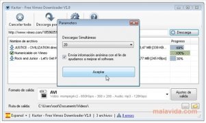 Free Vimeo Downloader immagine 5 Thumbnail