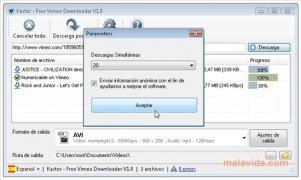 Free Vimeo Downloader imagen 5 Thumbnail