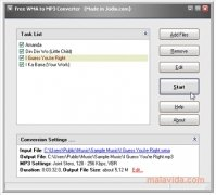 Free WMA to MP3 Converter image 2 Thumbnail
