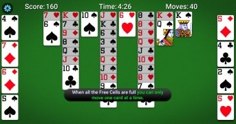 FreeCell Solitaire imagem 5 Thumbnail