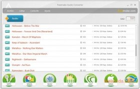 Freemake Audio Converter imagen 1 Thumbnail