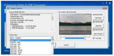 Freemore Video to GIF Converter immagine 3 Thumbnail