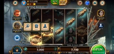 Game of Thrones Slots Casino image 7 Thumbnail