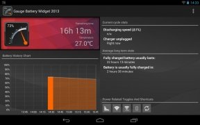 Gauge Battery Widget imagem 5 Thumbnail