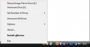 gBurner Virtual Drive image 2 Thumbnail