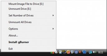 gBurner Virtual Drive imagem 2 Thumbnail