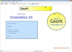 GeorK Física Cinemática 1D imagen 1 Thumbnail