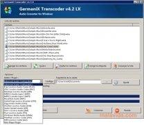 GermaniX Transcoder imagen 4 Thumbnail