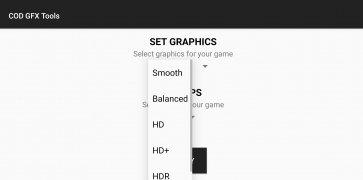 GFX Tool para COD Mobile imagem 3 Thumbnail