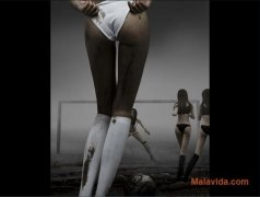 Girl Soccer Screensaver Изображение 2 Thumbnail