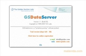 GoldenSection DataServer bild 4 Thumbnail
