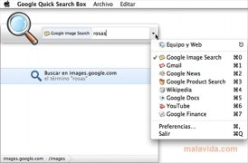 Google Quick Search Box Изображение 4 Thumbnail