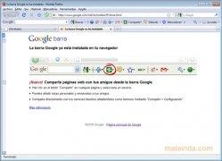 Google Toolbar Firefox  7.1.20110512W Beta Español imagen 1