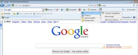 Google Toolbar Internet Explorer Изображение 2 Thumbnail