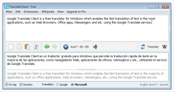 Google Translate Client immagine 1 Thumbnail