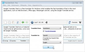Google Translate Client immagine 2 Thumbnail