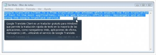 Google Translate Client immagine 3 Thumbnail