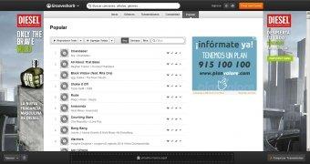 Grooveshark imagen 4 Thumbnail
