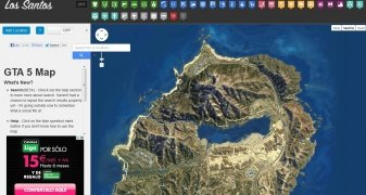 GTA 5 Map image 2 Thumbnail