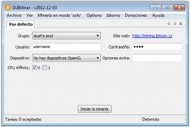 GUIMiner imagem 1 Thumbnail