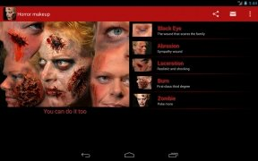 Halloween Horror Makeup image 1 Thumbnail