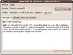 Hamachi  2.1.0.86-1 Beta imagen 1