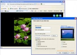 HTML Slide Show Wizard image 1 Thumbnail