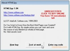 HTMLSpy imagen 3 Thumbnail