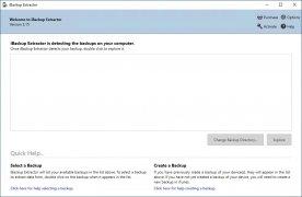 iBackup Extractor imagem 2 Thumbnail
