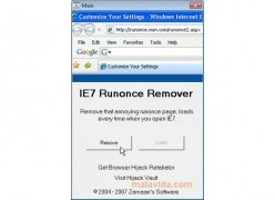 IE7 Runonce Remover imagen 1 Thumbnail