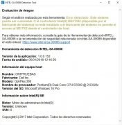 Intel's Meltdown & Spectre Detection Tool image 2 Thumbnail
