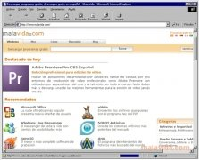 Internet Explorer 5.5 SP1  (Service Pack 1) Español imagen 1