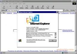 Internet Explorer 5.5 SP2 imagen 1 Thumbnail