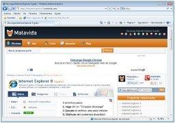 Internet Explorer 8 bild 1 Thumbnail