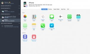 iPhone Backup Extractor immagine 2 Thumbnail